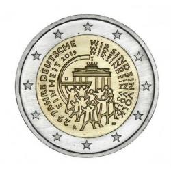 Vokietija 2 eurai, 2015 25-osios Vokietijos suvienijimo metinės