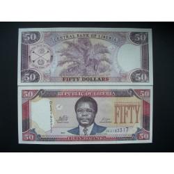 Liberia 50 Dollars, 2011 P-29f
