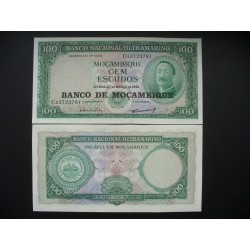 Mozambique 100 escus, 1976...