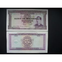 Mozambique 500 escus, 1976...