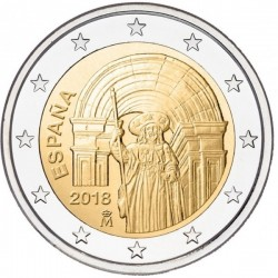 Ispanija 2 eurai, 2018 Santiago de Compostela