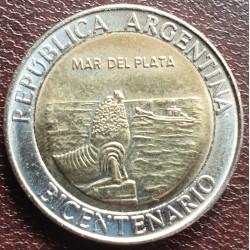 Argentina 1 pesas, 2010 Mar del Plata