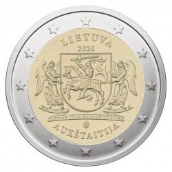 Lietuva 2 eurai, 2020 Aukštaitija