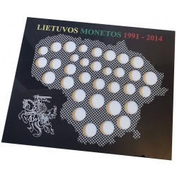 Frame for Lithuanian coins...
