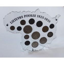 Rėmelis Lietuvos monetoms Nr. 29 - 1925-1938