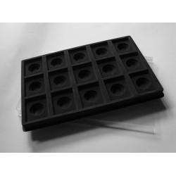 Paletė (dėklas) SEG iš 15 stačiakampių 50x60 mm