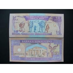 Somalilandas 10 šilingų, 1996 P-2b