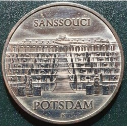Vokietija - VDR 5 markės, 1986 Sanssouci Palace Potsdam