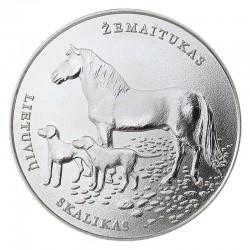 Lietuva 1,50 euro, 2017 Lietuvių skalikas ir žemaitukas