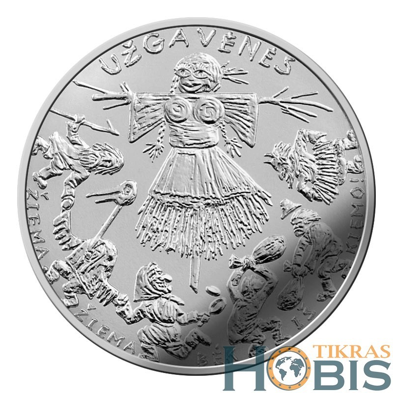 Lietuva 1,50 euro, 2019 Užgavėnės