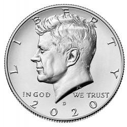 JAV 1/2 dolerio, 2018-2020...