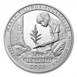 JAV 25 centai, 2020 Marsh-Billings-Rockefeller, Vermont