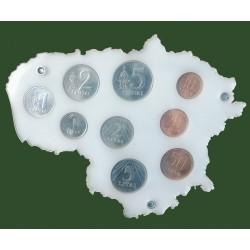 Rėmelis Lietuvos monetoms...
