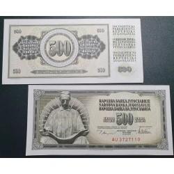 Yugoslavia 500 dinars, 1978...