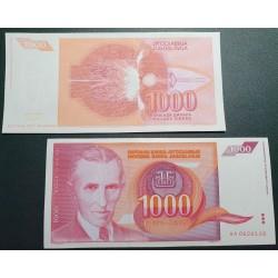 Jugoslavija 1000 dinarų, 1992 P-114