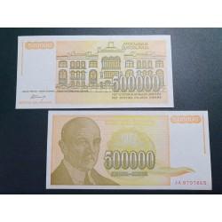 Yugoslavia 500 000 dinars,...