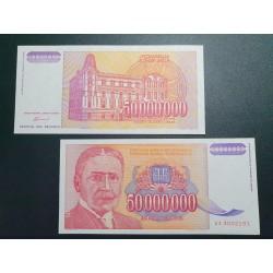 Jugoslavija 50 mln. dinarų, 1993 P-133a