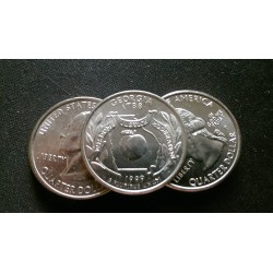 JAV 25 centai, 1999 Georgia UNC KM#296