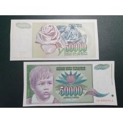 Jugoslavija 50 000 dinarų, 1992 P-117