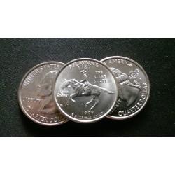 JAV 25 centai, 1999 Delaware UNC KM#293