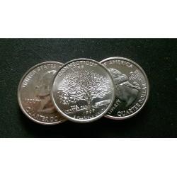 JAV 25 centai, 1999 Connecticut UNC KM#297