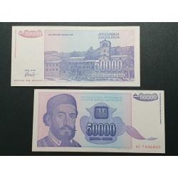 Jugoslavija 50 000 dinarų, 1993 P-130a