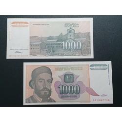 Jugoslavija 1000 dinarų, 1994 P-140a