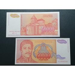 Jugoslavija 50 000 dinarų, 1994 P-142a