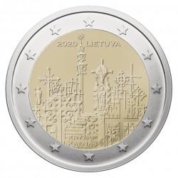 Lietuva 2 eurai, 2020 Kryžių kalnas