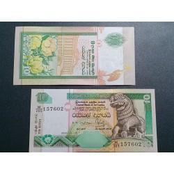 Šri Lanka 10 rupijų, 2001...