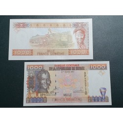 Guinea 1000 francs, 1998 P-37