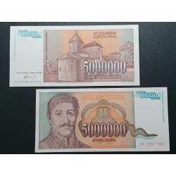 Yugoslavia EUR 5 million...