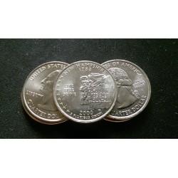 JAV 25 centai, 2000 New Hampshire UNC KM#308