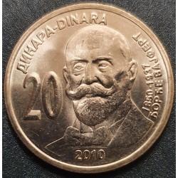 Serbija 20 dinarų, 2010 Djordje Weifert