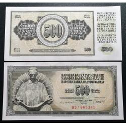 Jugoslavija 500 dinarų, 1981 P-91b
