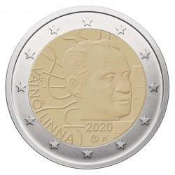 Suomija 2 eurai, 2020 100th Vaino Linna