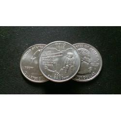JAV 25 centai, 2002 Ohio UNC