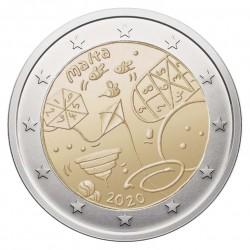 Malta 2 eurai, 2020 žaidimai