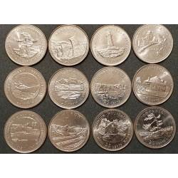 Kanada 25 centai, 1992 proginių 12 monetų rinkinys