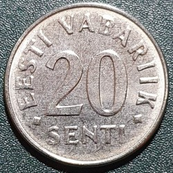 Estija 20 sentų, 2006