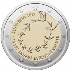 Slovėnija 2 eurai, 2017 Euro įvedimo Slovėnijoje 10