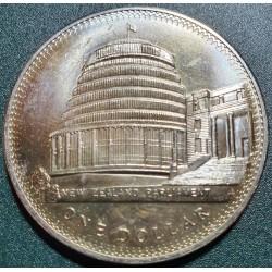 New Zealand 1 dollar, 1978 25th Coronation Elizabeth II