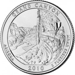 JAV 25 centai, 2010 Grand Canyon, Arizona