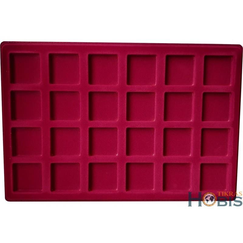 Paletė (dėklas) P24 iš 24 kvadratų 41x41 mm