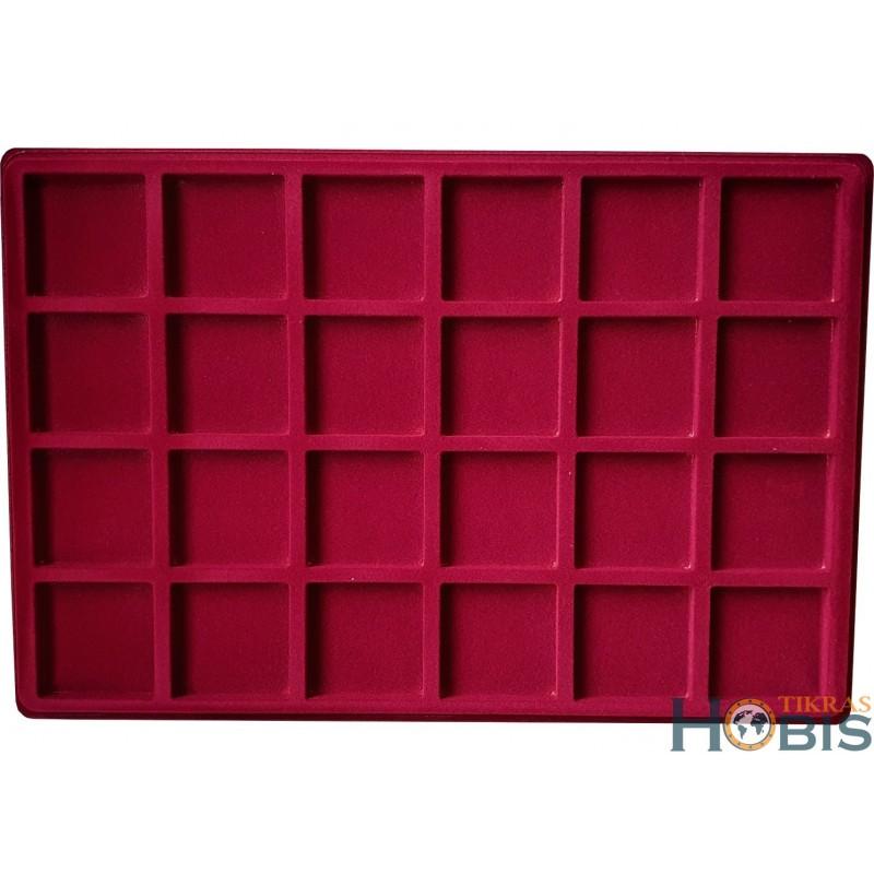 Paletė (dėklas) P24 iš 24 kvadratų 46x46 mm