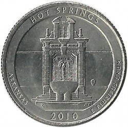JAV 25 centai, 2010 Hot Springs, Arkansas