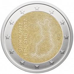 Suomija 2 eurai, 2017 Nepriklausomybės 100 UC103