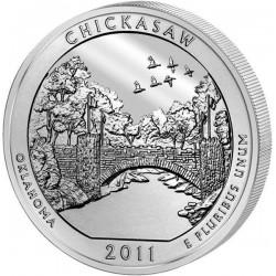 JAV 25 centai, 2011 Chickasaw, Oklahoma