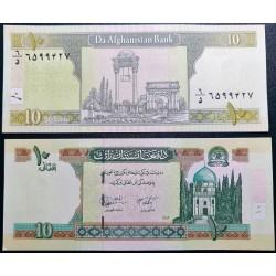Afganistanas 10 afganių,...