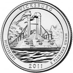 JAV 25 centai, 2011 Vicksburg, Mississippi
